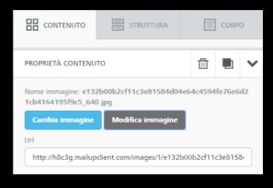 Modifica immagini stock MailUp