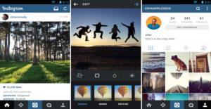 Instagram esempio post