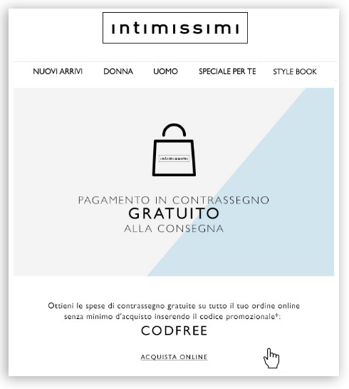 intimissimi font email mailup
