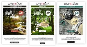 Lovethesign email estate MailUp