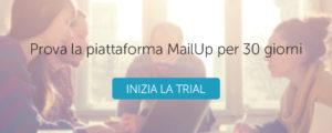 Prova MailUp gratis per 30 giorni