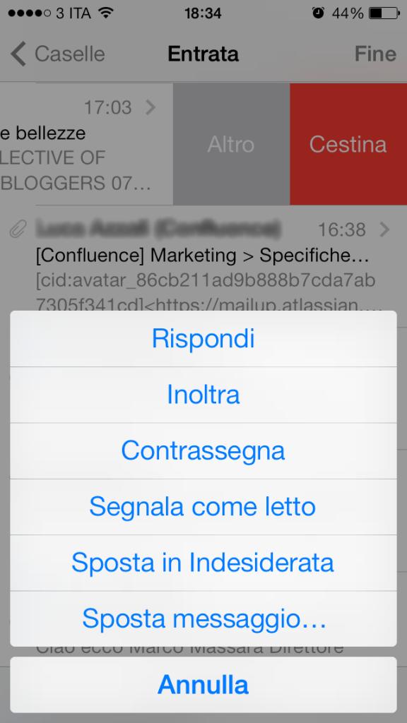 iOS7 - messaggio non letto