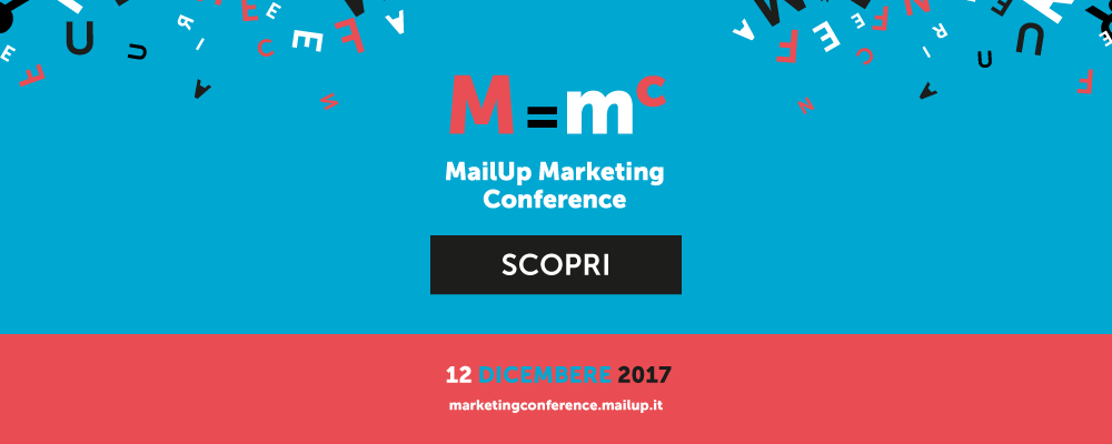 Iscriviti a MailUp Marketing Conference