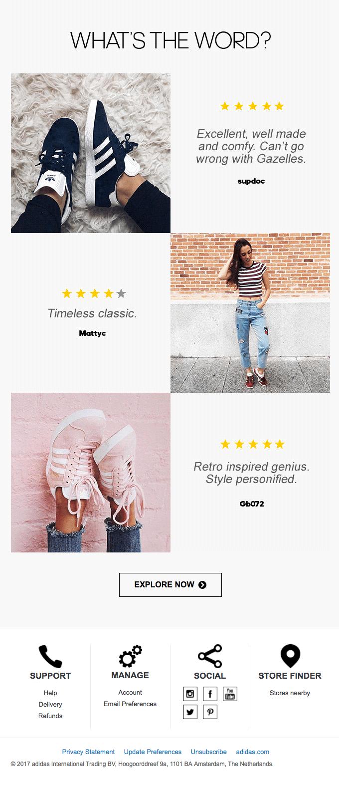 I prodotti correlati di Adidas