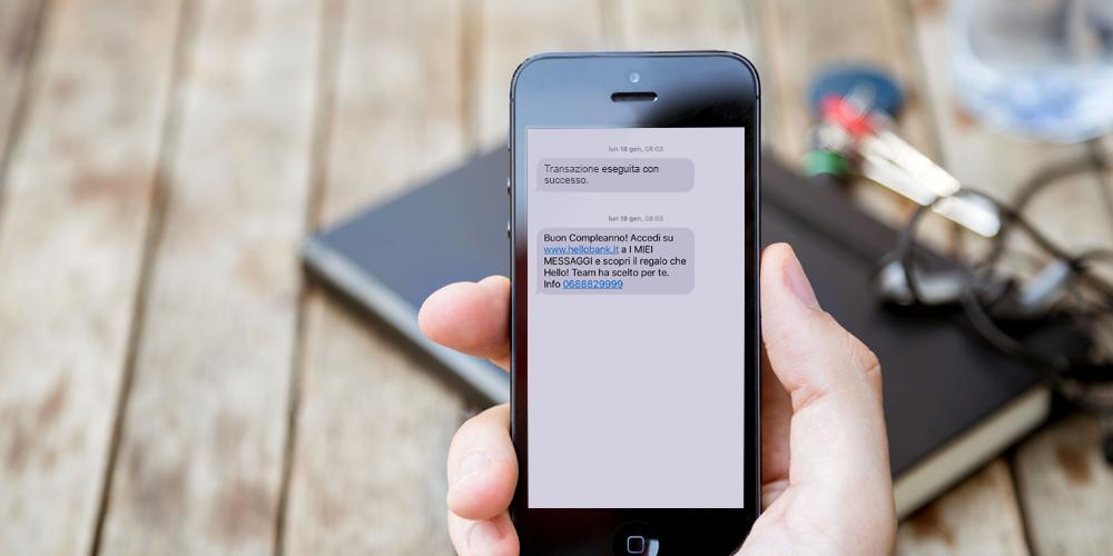 Gli SMS per coltivare il rapporto tra clienti e aziende.