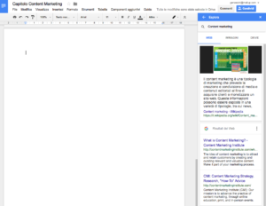 Google Drive Research Tool