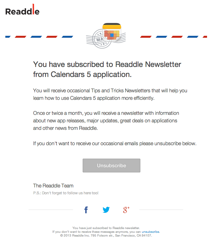 esempio-mail-conferma-readdle