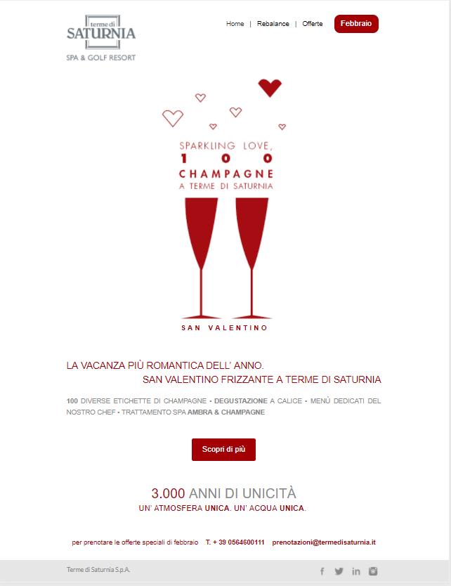 L'email di San Valentino